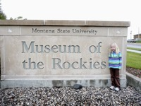 Museum - Museum of the Rockies - Sign & Zoe