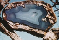 Nebraska - Gem - Blue Agate