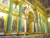 Russia - Saint Isaac's Cathedral - Columns