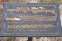 Site - Burning Coal Vein