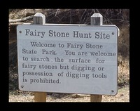 Site - Fair Stone Park Sign