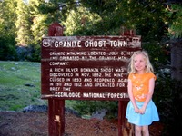 Site - Granite Ghost Town