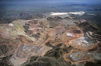 Site - Morenci Copper Mine Aerial View