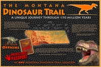Site - MT Dino Trail Poster