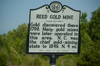 Site - Reed Gold Mine Sigh