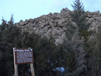 Site - Ringing Rocks sign