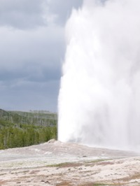 Site - Yellowstone Old Faithful