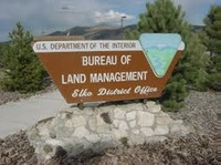 Specimen - BLM Elko Sign