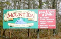 Specimen - Mount Ida Quartz Sign